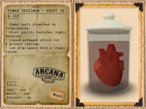 {A} Human Specimen - Heart in a Jar Vendor